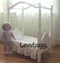 Canopy Bed 18 TO 20 inch Girl Doll Furniture