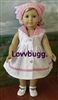 Check It Out Dress 18 inch American Girl or Bitty Baby Doll Clothes
