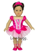 SALE Sugar Plum Fairy Classic Ballet Set 18 inch American Girl or Bitty Baby Doll Clothes