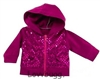 SALE Hot Pink Sequins Hoodie Jacket 18 inch Girl or Bitty Baby Doll Clothes