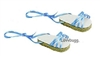 Blue Ribbon Sandals Espadrilles for American Girl 18 inch or Bitty Baby 15 inch Doll Shoes Clothes