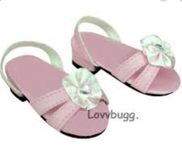 """Green Sequined Flip Flops Sandal Shoes made for 18/"""" American Girl Doll Clothes"""