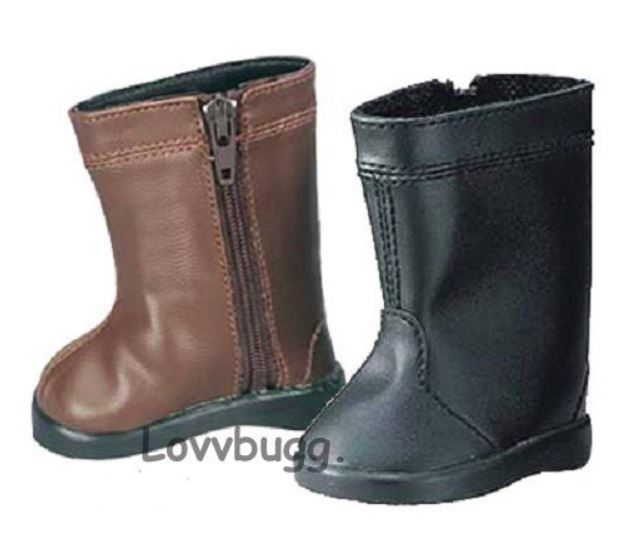 Brown Horse Riding Boots 18 inch Girl