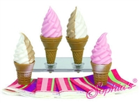 Ice Cream Cones Girl Doll Food Accessory