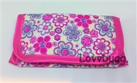 SALE Floral Purse or Eye Glasses Case 18 inch American Girl Doll Clothes Accessory