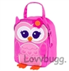 Pink Owl Lunchbox 18 inch American Girl or Wellie Wishers Doll Food Accessory