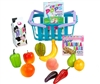 Grocery Basket with Foods Set with 14 Pieces  14 to 18 inch American Girl Doll Food Accessory