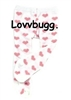 Pink Heart Tights 18 inch Girl Doll Clothes Accessory