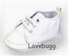 White Sneakers 23 inch My Twinn Doll Shoes