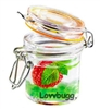 Our Smallerr Mini Plastic Jar (Empty) for Spices and Great 18 inch American Girl Doll Kitchen Accessory--Food Safe!