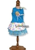 Polka Dots and Lollipops Skirt Set 18 inch American Girl or Bitty Baby Doll Clothes