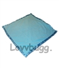 "Blue Blanket for 15"" - 18"" American Girl Doll Accessory"
