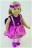SALE Complete Purple Butterfly Ballet Set 18 inch American Girl Doll Clothes