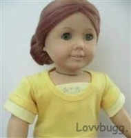 """For 18/"""" American Girl White Eyelet Babydoll Top Blouse Doll Clothes HANDMADE"""