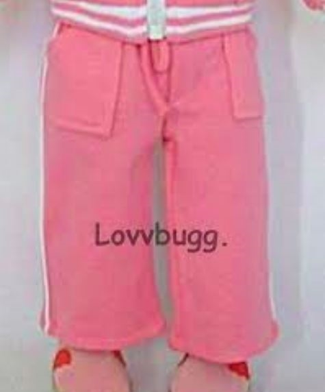 Pink Pants with Pockets made for 18 inch American Girl Doll Clothes