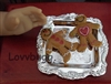 Gingerbread Men on Tray 18 inch American Girl Doll Food Accessory