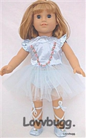 SALE Blue Nutcracker Ballet Costume 18 inch American Girl or Bitty Baby Doll Clothes