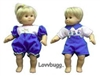Value 2 Summer Day Outfits Twins 15 inch  Doll Clothes