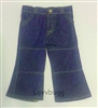 SALE Blue Jeans Denim Flared Pants 18 inch American Girl or Boy Doll Clothes