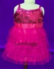 SALE Sequin Ruffles Dress 18 inch American Girl or Bitty Baby Doll Clothes