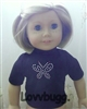 SALE Butterfly T Shirt 18 inch American Girl and Bitty Baby Doll Clothes