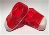 "Red Earth Shoes Jellies for 18"" American Girl n Bitty Baby Doll Clothes"