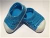 "Blue Earth Shoes Jellies for 18"" American Girl n Baby Doll Clothes"