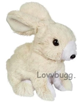 Adorable Rabbit Pet Moves Hops 18 inch American Girl Doll Pet Accessory