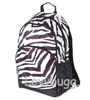 SALE Full Size Zebra Backpack Trunk Suitcase 18 inch American Girl Doll Fits Inside! Storage Playdate Accessory