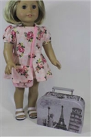 World Traveler Travel Bag Suitcase 18 inch American Girl Doll Storage Accessory