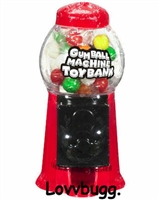 Gumball Machine Mini 18 inch American Girl Doll Food Accessory