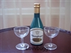 Champagne Bottle with Two Glasses 18 inch American Girl Tyler Gene BJD Doll Celebration Accessory