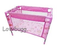 Bed Playpen Baby Doll up-to-16 inches Tall Furniture Accessory