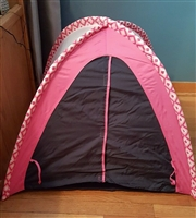 My Twinn brand Camping Tent made to fit Larger Dolls, Fits Girl Too!