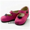 "My Twinn brand Pink Hearts Shoes for 23"" Doll"