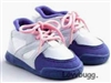 "My Twinn Blue/Gray/White Sneakers for 23"" Girl Doll Shoes Clothes"