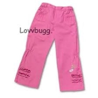 "My Twinn Pink Pants for 23"" Doll Clothes"