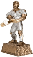 Barney Badass Medium Baseball Trophy