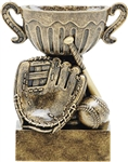 Small Cup Fantasy Baseball Trophy