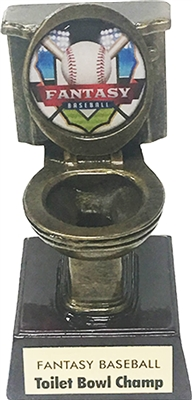 Fantasy Baseball Toilet Bowl Fantasy Football Trophy | Bruno's