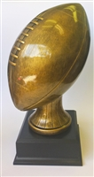 Brushed Gold Fantasy Football Trophy from Bruno's