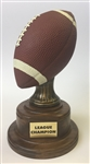 Pedestal Fantasy Football Trophy from Bruno's