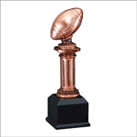 Copper Pedestal Fantasy Football Trophy from Bruno's