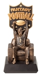 The Fantasy Junky Football Trophy