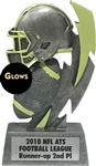 Glow In The Dark Fantasy Football Trophy from Bruno's
