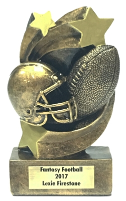 Shooting Star Football Trophy