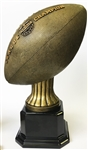 Golden Football Fantasy Football Trophy from Bruno's