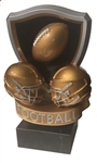 Golden Football Crest Trophy