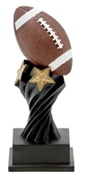 Twisted Pedestal Fantasy Football Trophy from Bruno's