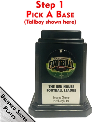 Perpetual Fantasy Football Trophy | The Tall Boy from Bruno's